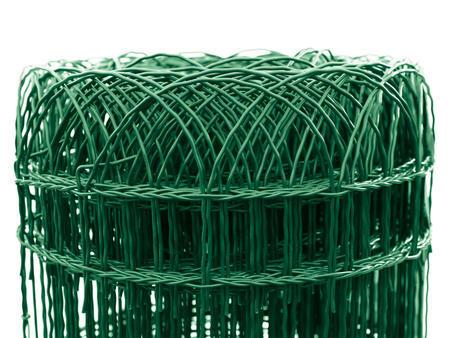 Dekoran 400 mm /90x150 mm/25 m, Zn+PVC zelené, výška 40cm - 1
