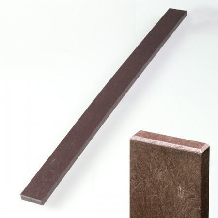 Recyklát hnědá rovná 78x21x1980 mm, Výška 1980 mm - 1