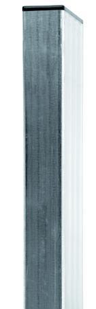 Sloupek 60x40x1,5 Zn vč.krytky, Výška 2600 mm