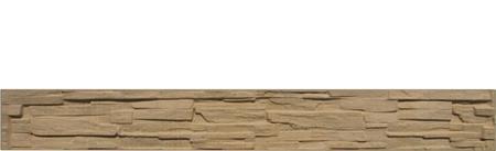 Betonový panel štípaný kámen 1-str. pískovec  2000x250x40 mm - 1