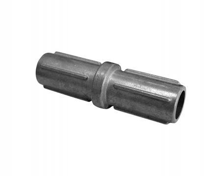 Nádstavec pro sloupek 42 mm, stříbrný