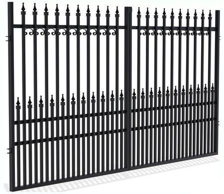 Brána dvoukřídlá YORK
