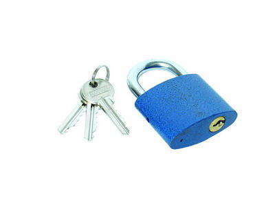 Visací zámek + 3 klíče 25 mm