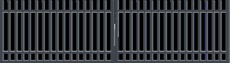 Brána dvoukřídlá s pohonem BARCELONA 4000 mm, S pohonem 4000 mm