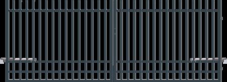 Brána dvoukřídlá s pohonem NICE 4000 mm, výška 1200 mm, S pohonem 4000 mm, výška 1200 mm