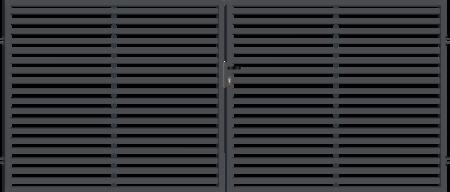 Brána dvoukřídlá s kováním ARIZONA 3500 mm, S kováním 3500 mm - 1