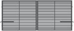 BRÁNA DVOUKŘÍDLÁ S POHONEM ARIZONA 3500mm, S pohonem 3500 mm - 1/2
