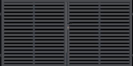 Brána dvoukřídlá s kováním ARIZONA 3000 mm, S kováním 3000 mm - 1