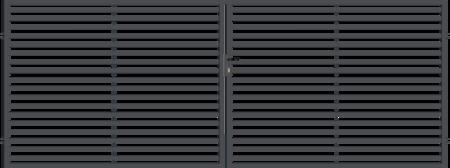 Brána dvoukřídlá s kováním ARIZONA 4000 mm, S kováním 4000 mm - 1