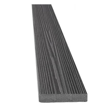 DAMIWPC rovná 140x12 mm grafit, Délka 4000 mm - 1
