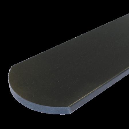 Everwood antracit oblouk 70x15 mm na míru, Antracit
