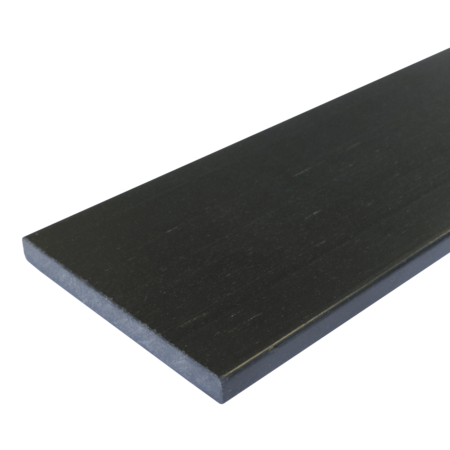 Everwood antracit rovná 100x10 mm na míru, Antracit