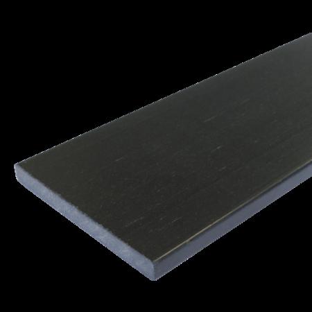 Everwood antracit rovná 150x15 mm na míru, Antracit