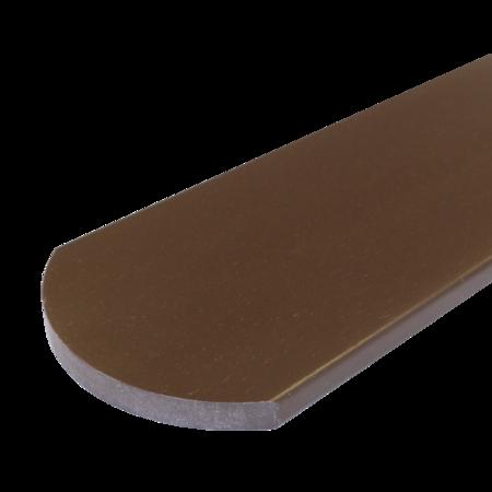 Everwood hnědý oblouk 100x15 mm na míru, Hnědá