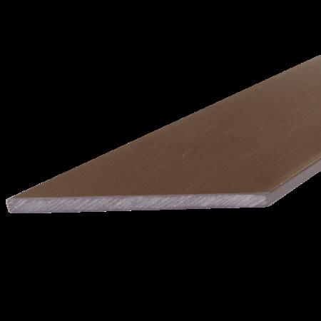 Everwood hnědá zkosená 100x10 mm na míru, Hnědá