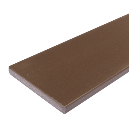 Everwood hnědý rovná 150x20 mm na míru, Hnědá