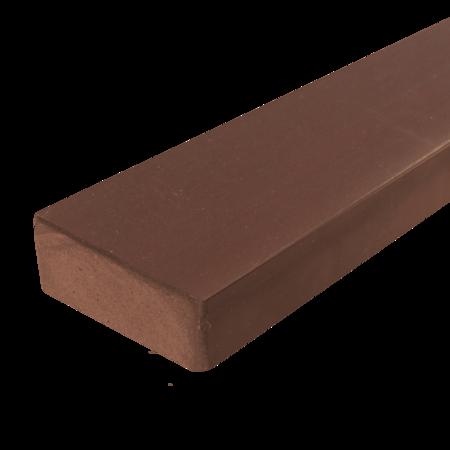 Everwood mahagon zaoblená 70x20 mm na míru, Mahagon