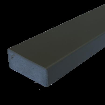 Everwood antracit zaoblená 70x20 mm na míru, Antracit