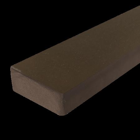 Everwood palisandr zaoblená 70x20 mm na míru, Palisandr