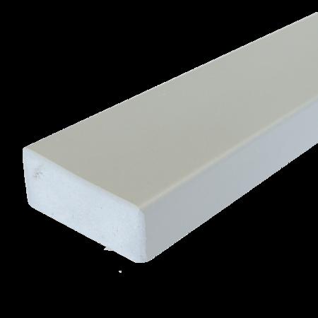 Everwood šedá světlá hranol 70x30 mm na míru, Šedá světlá