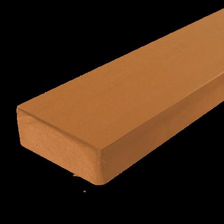 Everwood tmavá pinie zaoblená 70x20 mm na míru, Tmavá pinie
