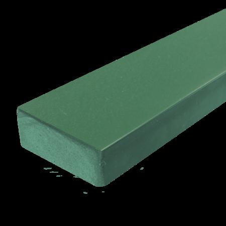 Everwood zelená zaoblená 70x20 mm na míru, Zelená
