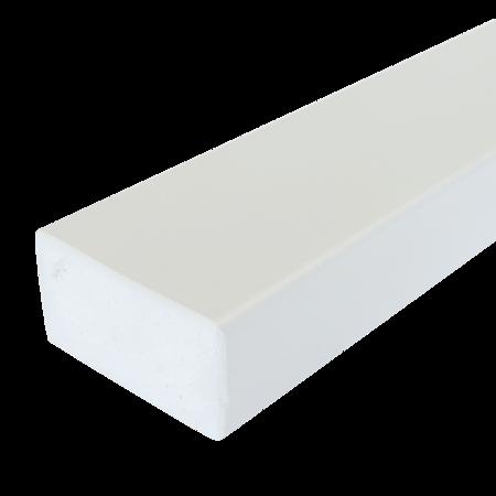 Everwood bílá 75x40 mm na míru, Bílá