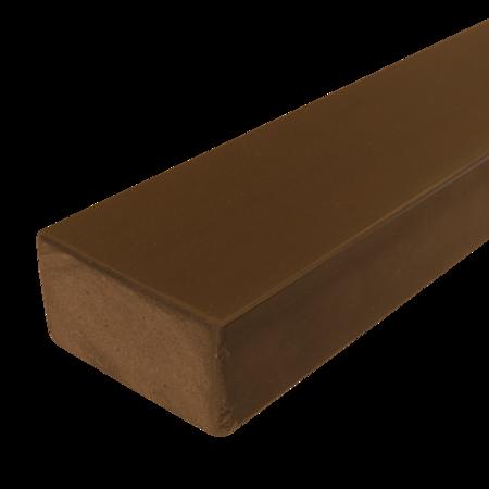 Everwood hnědý 75x40 mm na míru, Hnědý