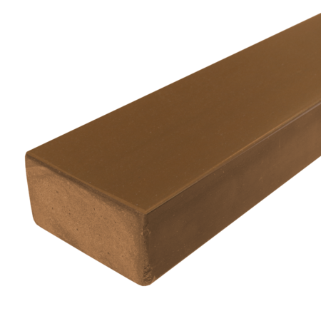 Everwood teak hranol 75x40 mm na míru, Teak