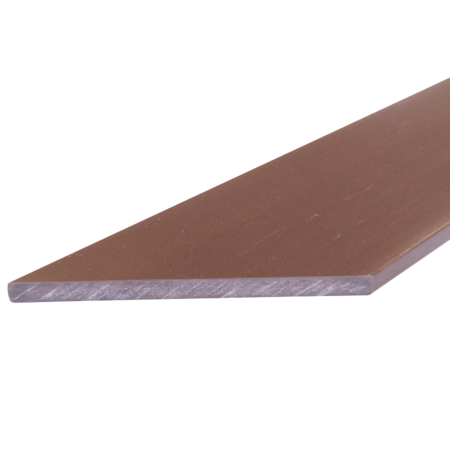 Everwood mahagon zkosená 100x10 mm na míru, Mahagon
