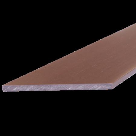 Everwood mahagon zkosená 70x10 mm na míru, Mahagon