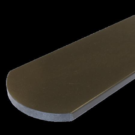 Everwood palisandr oblouk 100x10 mm na míru, Palisandr