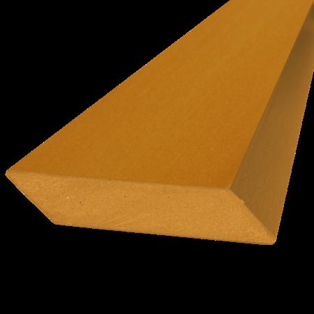 Everwood pinie hranol šikmý 75x15 mm na míru, Pinie