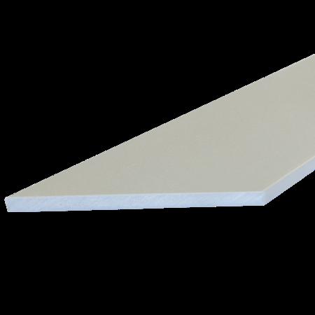 Everwood šedá světlá zkosená 100x10 mm na míru, Šedá světlá
