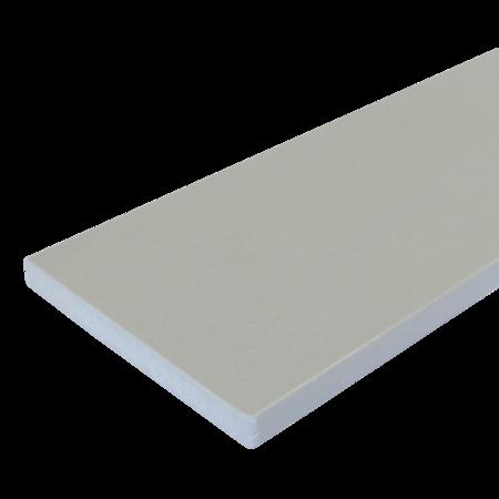 Everwood šedá světlá rovná 100x15 mm na míru, Šedá světlá