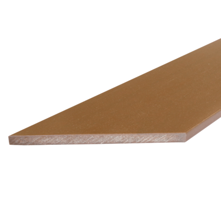 Everwood teak zkosená 70x10 mm na míru, Teak