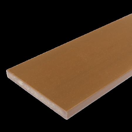 Everwood teak rovná 100x10 mm na míru, Teak