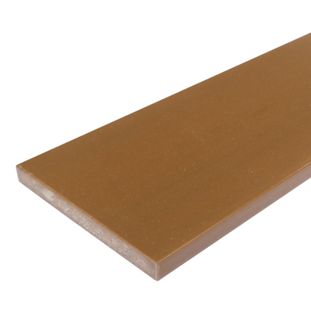 Everwood teak rovná 70x15 mm na míru, Teak