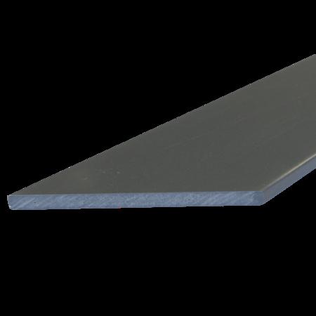 Everwood šedá tmavá zkosená 70x10 mm na míru, Šedá tmavá