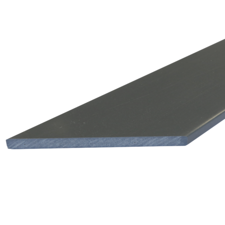 Everwood šedá tmavá zkosená 70x15 mm na míru, Šedá tmavá