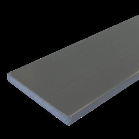 Everwood šedá tmavá rovná 70x15 mm na míru, Šedá tmavá