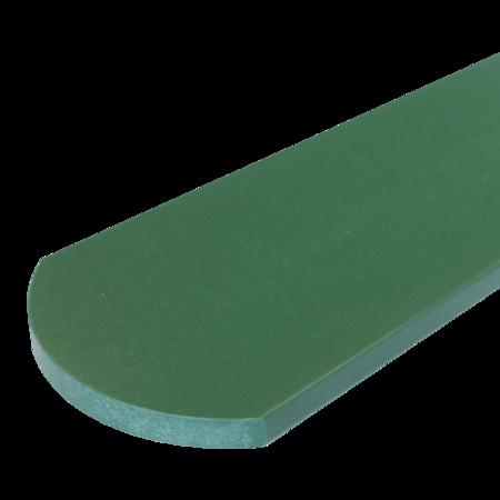 Everwood zelená oblouk 100x15 mm na míru, Zelená
