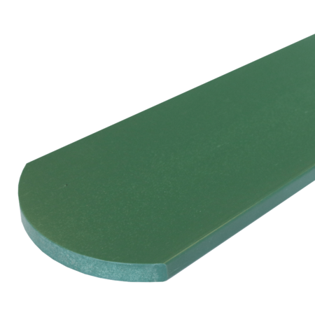 Everwood zelená oblouk 70x10 mm na míru, Zelená