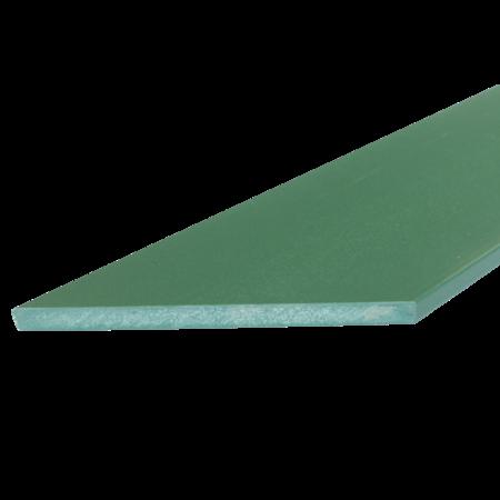 Everwood zelená zkosená 100x10 mm na míru, Zelená