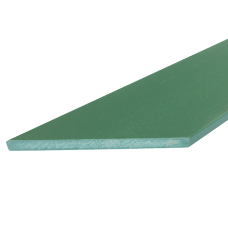 Everwood zelená zkosená 70x10 mm na míru, Zelená