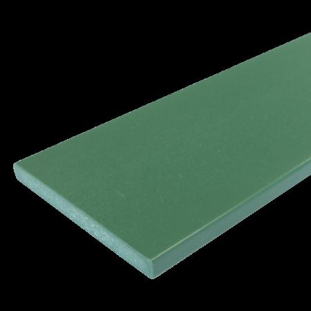 Everwood zelená rovná 100x15 mm na míru, Zelená