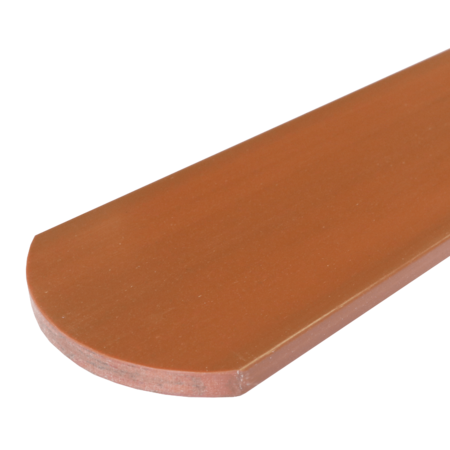 Everwood zlatý dub oblouk 100x10 mm na míru, Zlatý dub