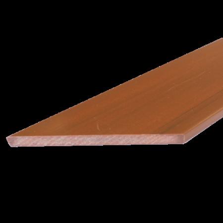 Everwood zlatý dub zkosená 70x15 mm na míru, Zlatý dub