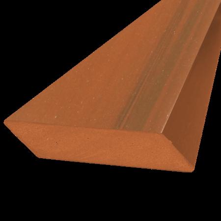 Everwood zlatý dub hranol šikmý 75x15 mm na míru, Zlatý dub