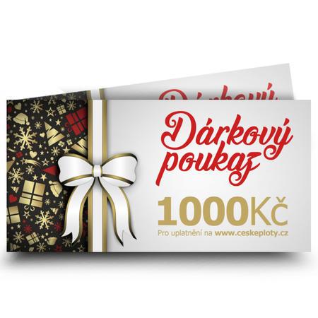 Dárkový poukaz vánoční 1000 Kč